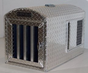 Diamond Deluxe Aluminum Dog Crate Dog Carrier Dog