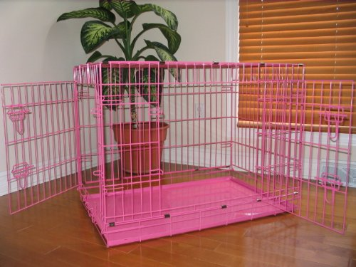"Extra Large 48"" Folding Pet Dog Cat Crate Cage Kennel With ... - photo#22"