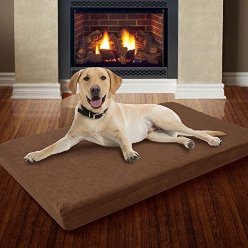 Large Memory Foam Dog Bed With Removable Cover 46 Quot X 27