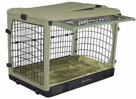 Pet Gear Deluxe Steel Pet Dog Safety Indoor Outdoor