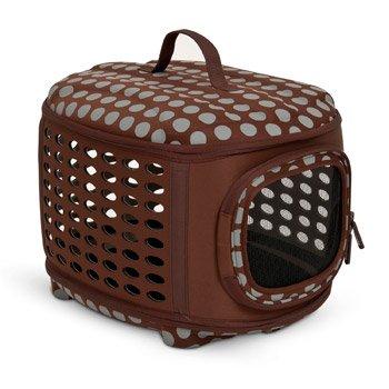 Petmate Curvations Soft Sided Pet Retreat Carrier K9 Crates